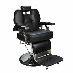Barberpub Fauteuil Télécommande Coiffure Coiffeur Création Fauteuil de coiffeur hydraulique Chaise 2801BK