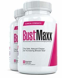 BustMaxx: Meilleures Gélules pour Augmentation Mammaire – Grossissement de Poitrine Complément Naturel d'Augmentation du Sein Conçu pour améliorer la Croissance Mammaire et Augmenter Sein, 60 Pilules (2)