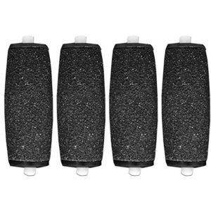 CSL Lot de 4rouleaux de remplacement aux Cristaux de Diamants compatibles avec la râpe électrique Scholl Velvet Smooth