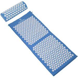 #DoYourFitness Kit d'acupression XXL »Yumanyi«/Idéal pour la détente et la stimulation de la circulation sanguine/matelas + coussins 100% coton/différentes couleurs gaies disponibles.