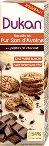 Dukan Biscuit au Son d'Avoine/Pépites Chocolat 95 g – Lot de 8