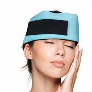 Dynamik Products – Bandeau refroidissant anti-migraine – soulage les sinus/tensions/maux de tête/douleurs