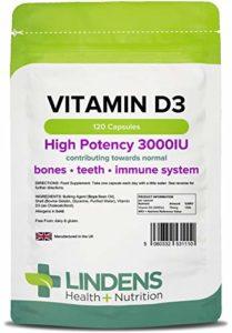 Lindens – Vitamine D3 3000 UI – 120 Caps