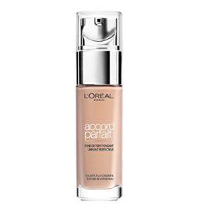 L'Oréal Paris Make Up Designer – Accord Parfait Fond de Teint Fluide Unifiant Vanille Rosé 2.R 30 ml