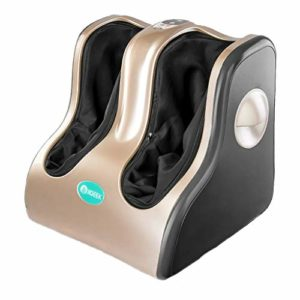 Machine de Massage des Pieds, Masseur Automatique des Pieds Maison Pied Veau Massage Instrument Pied Acupression Masseur des Pieds Acupresseur Masseur Adaptation Automatique à la Taille de la Jambe