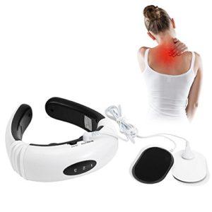 Massage du cou, appareil de massage électrique méridien vertébrale cervicale de dispositif de dos d'impulsion de thérapie magnétique, soulagement de douleur de muscle