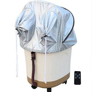 Massage Spa Baignoire de Pied Baignoire de Massage Automatique Baignoire de Pied Profonde Baignoire de Pied chauffante Baignoire de Pieds à l'ancienne (75cm) Massagiste à Rouleaux