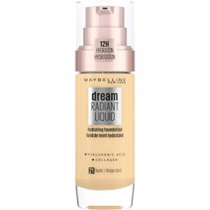 Maybelline New York Fond de Teint Dream Satin Fluide FPS13 21 Beige Doré 30 ml