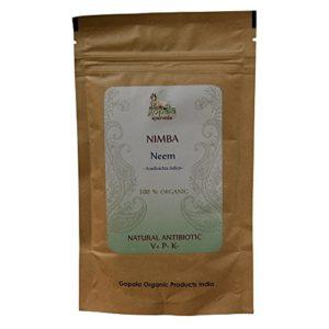 NIMBA -Neem- (Azadirachta indica) BIO en poudre (100 g) – Plante Ayurvédique Traditionnelle antibiotique naturel