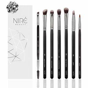 Niré Beauty Kit de Pinceaux Maquillage: Pinceaux Maquillage Professionnel DE QUALITÉ SUPÉRIEURE pour Yeux