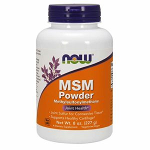 NOW Foods MSM Pure Powder, 8 ounce