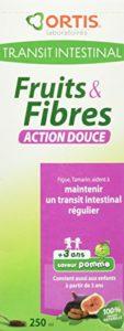 ORTIS Fruits & Fibres Action Douce Sirop pour Enfant 250 ml