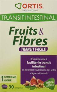 ORTIS Fruits & Fibres Transit Facile Complément Alimentaire 30 Comprimés