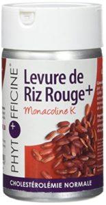 Phytofficine Levure de Riz Rouge+ 60 Gélules d'Origine Végétale