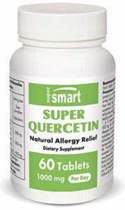 Supersmart – Allergies, Produits spécifiques – Super Quercetin – Contenance: 60 comprimés