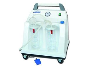 Tobi Hospital Suction Aspirator – 2x2l – 230v – With Footswitch by Ausilium