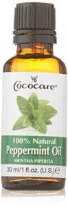100% naturelle Huile de menthe poivrée, 1 fl oz (30 ml) – Cococare