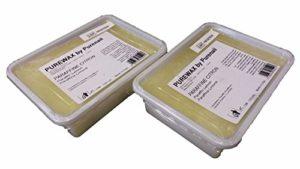 2 pains de 500 ml de paraffine CITRON pour chauffe paraffine, Soin des mains et des pieds