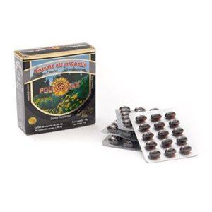 4 Boîtes De Brésilien Vert Abeilles Propolis Extrait Apiario Polenectar concentré Gélule 60 300 mg Capsules Par JLBrazil