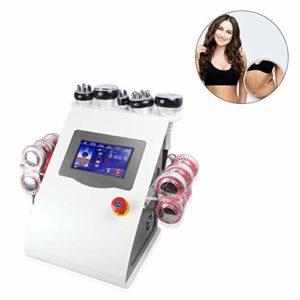 6 en 1 40K Cavitation Vacuum Anti-Age Machine de beauté pour la Peau Minceur et Le Levage Salon et Usage Domestique Body Shaper