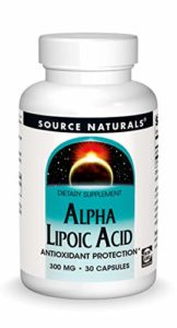 Acide alpha-lipoïque ALA acide thioctique – 300 mg (antioxydant) – 30 capsules