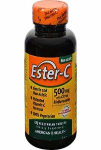 American Health, Ester-C 500 mg with Citrus Bioflavonoids, 225 Veggie Tabs