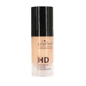 Amuster_Fond de Teint Maquillage Liquide Correcteur Concealer Contour Palette Fond de Teint Cosmétique Anti-cernes Mettez en Surbrillance Camouflage