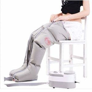 Appareil De Massage De Jambe De Compression d'air Électrique Les Enveloppes De Jambe Les Chevilles De Pied La Machine De Massage De Veau Favorisent La Circulation De Sang Soulagent La Douleur Fatigue