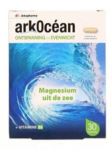 Arkopharma – Arkocéan Magnésium Marin Vitamine B6, 30 Gélules