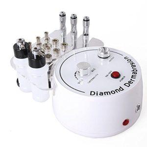 Beautystar Beauty Appareil de microdermabrasion diamant 3 en 1 Extracteur Pulvérisateur Utilisation maison et institut