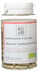 Belle&Bio – Harpagophytum Bio – 120 gélules – 1140 mg – Articulation – Certifié Bio par Ecocert – Fabriqué en France