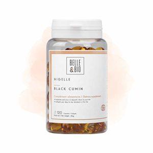 Belle&Bio – Nigelle – 120 capsules – 2000 mg – Défenses Naturelles – Fabriqué en France