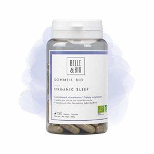 Belle&Bio – Sommeil Bio – 120 gélules – Sommeil – Certifié Bio par Ecocert – Fabriqué en France