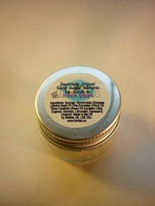 Bimble Organic Raw Cane Sugar Natural Lip Scrub 25g – Turkish Delight Flavour