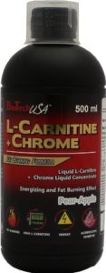 Biotech USA 14007010300 L-Carnitine 35.000 mg + Chrome Concentrate Saveur Poire-Pomme