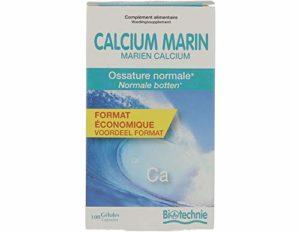 Biotechnie – Calcium marin – 100 gélules – Pour des os forts et consolidés