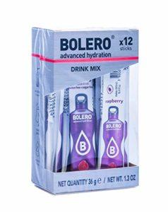 Bolero Poudre Sticks Raspberry 12 x 3 g