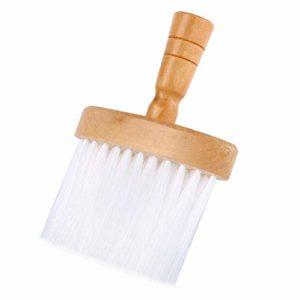 Brosses à Plis de Cou Doux Hair Clean Hairbrush Outil Poignée Bois Pour Coiffeur de Coiffeur