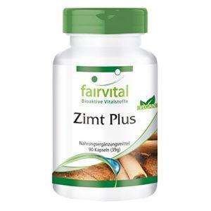 Cannelle Plus – extrait de cannelle 200mg avec du chrome et du zinc – 90 gélules