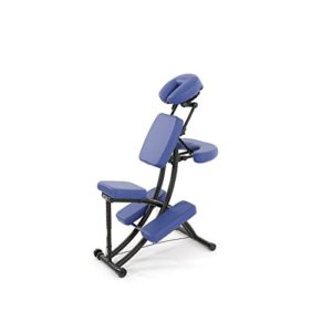 CHAISE DE MASSAGE OAKWORKS BLEUE Préférée des Pros-5403/N- Certifié France Medical Industrie