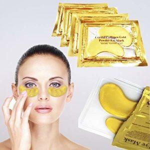 Crystal Collagène or Yeux Masque Tampons Oculaires Anti-âge Feuchtigkeitsmaske 1-50 Pièces – 50 Paar
