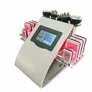 CSFM-Body 6 en 1 Pression négative RF Appareil Minceur Corps Masseur Enlèvement Cavitation Machine pour Peau Amincissante et liftante Salon et Maison