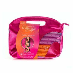 Curlformers Bigoudis originaux et brevetés Kit complet pour cheveux longs/boucles larges