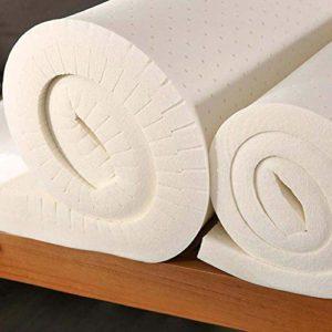 DADAO Latex Matelas Queen, Chambre Sofa Tatami hôtel-Matelas en Latex thaïlandais pour Le Sommeil de ménage de Soutien et de soulagement de la Pression,18cm,220x200cm(87x79inch)