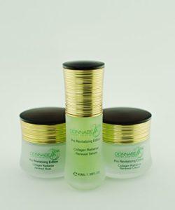 Donna Bella Cosmetics – Kit de renouvellement de radiance de collagène