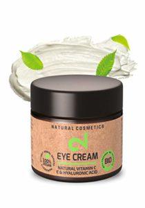 DUAL Eye Cream |100% Naturelle| Crème Pour les Yeux |Vitamine C et Source d'Acide Hyaluronique|Microalgues et Brocolis |Hydratation de la Peau | Anti-Âge | Végétalien | Laboratoire Certifié | 25 ml|UE