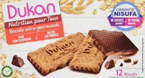 Dukan Biscuits de Son d'Avoine Extra-Gourmand 200 g – Lot de 5