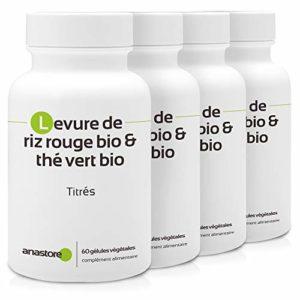 ÉQUILIBRE CHOLESTÉROL * PACK 3+1 GRATUIT * 387 mg / 240 gélules * Anti-inflammatoire, Cardiovasculaire (glucose, tension) * Garantie Satisfait ou Rembours * Fabriqué en France