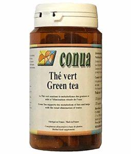 Extrait naturel de Thé vert avec 10% EGCG ⭐️ titré à 40% de polyphénols (caféine 115 mg / 6 gélules burn énergie et bonne humeur) dont 20% de Catéchines pilule Minceur – Detox – 120 GELULE VEGETALE