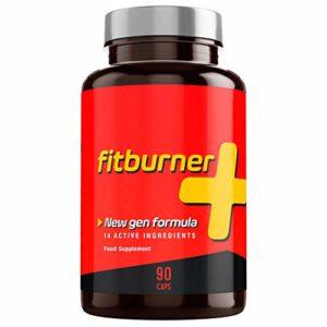 Fitburner+ | Formule Puissante avec 14 Ingrédients Actifs et Naturels | Extra Fort | Pour Hommes et Femmes | 90 Gélules Végétales
